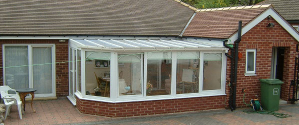 Cornwall lean to conservatory